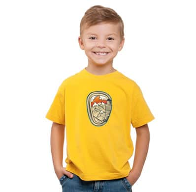 climbing4all t-shirt bambini